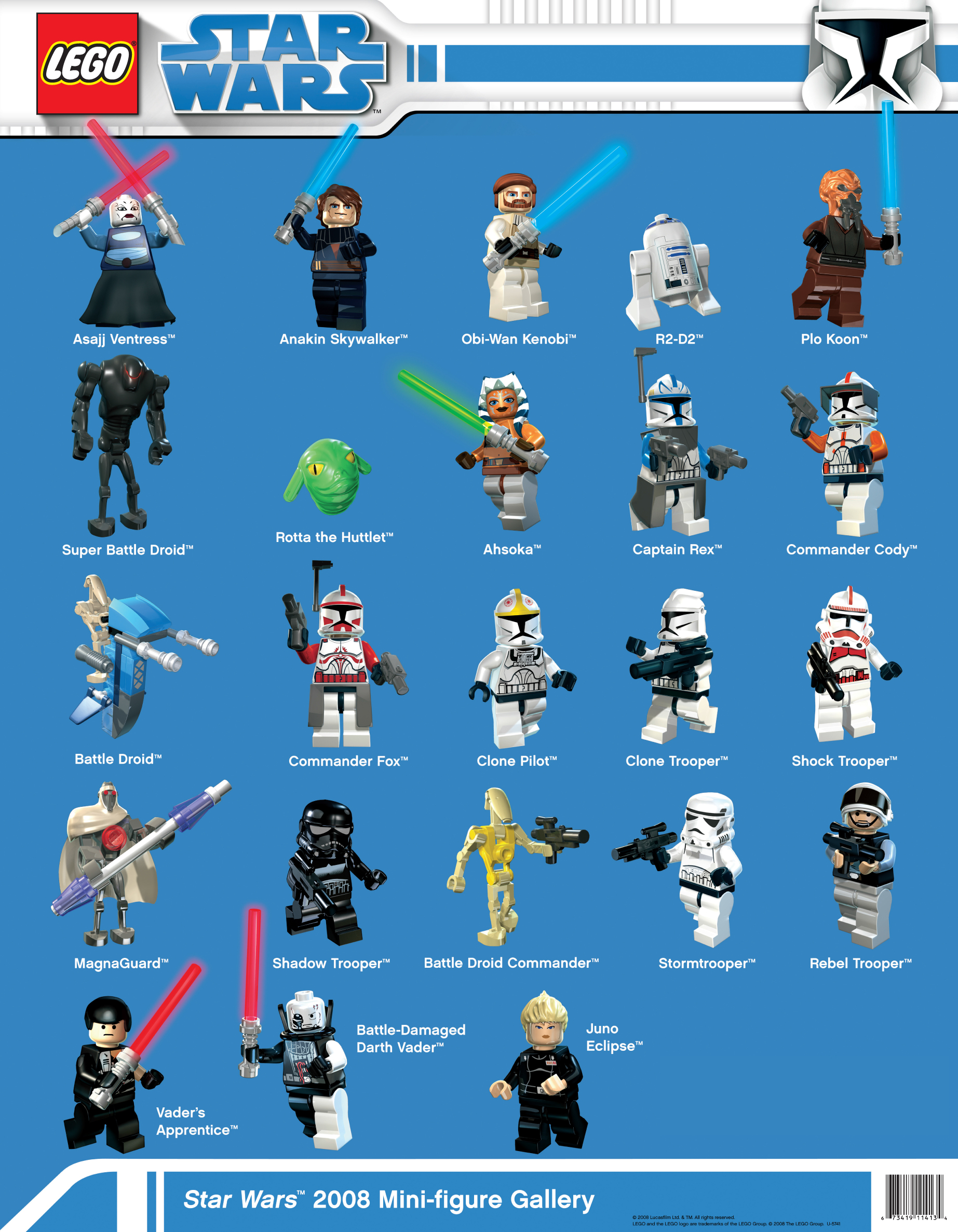 Image - Star Wars 2008 Mini-figure Gallery.jpg | Brickipedia ...