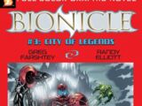 BIONICLE Graphic Novel 3: City of Legends