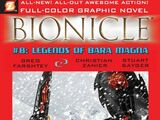 BIONICLE Graphic Novel 8: Legends of Bara Magna