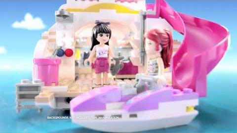 LEGO Friends Dolphin Cruiser -- 30 second spot
