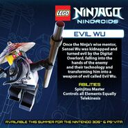LEGO Ninjago Nindroids Wu