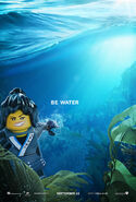 The LEGO Ninjago Movie Poster Nya