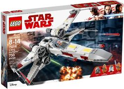 75218 X-Wing Starfighter Box
