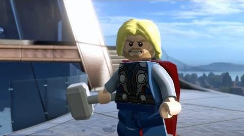 LEGO Marvel's Avengers Gameplay Demo - Comic-Con 2015