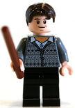 Neville Longbottom with wand