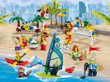 60153 Ensemble de figurines City - La plage