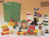 9061 DUPLO Basic Green Bucket