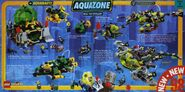 Aquaraiders and Stingrays catalog page