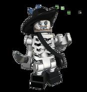 Hector Barbossa Squelette