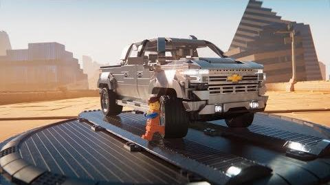The LEGO Chevy Silverado – Getaway Chevrolet