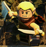 Lego the hobbit legolas