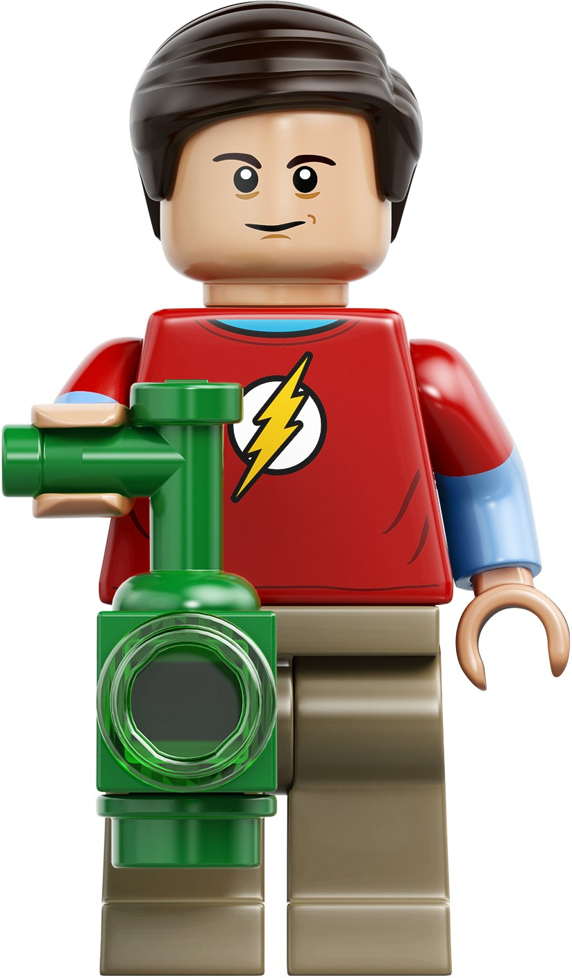 LEGO Ideas 21302 The Big Bang Theory Sheldon Cooper Figur Minifig TBBT