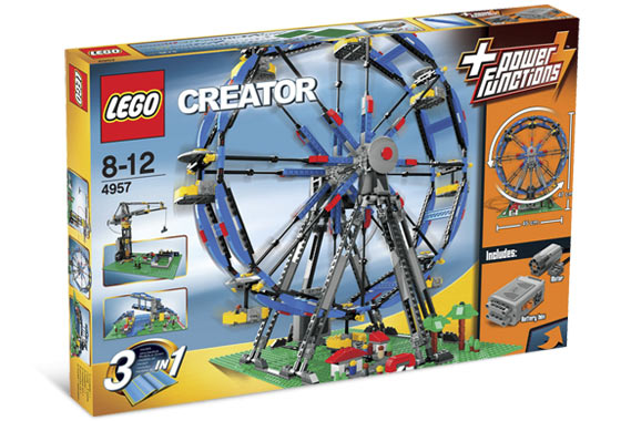 4957 Ferris Wheel Brickipedia Fandom Powered By Wikia