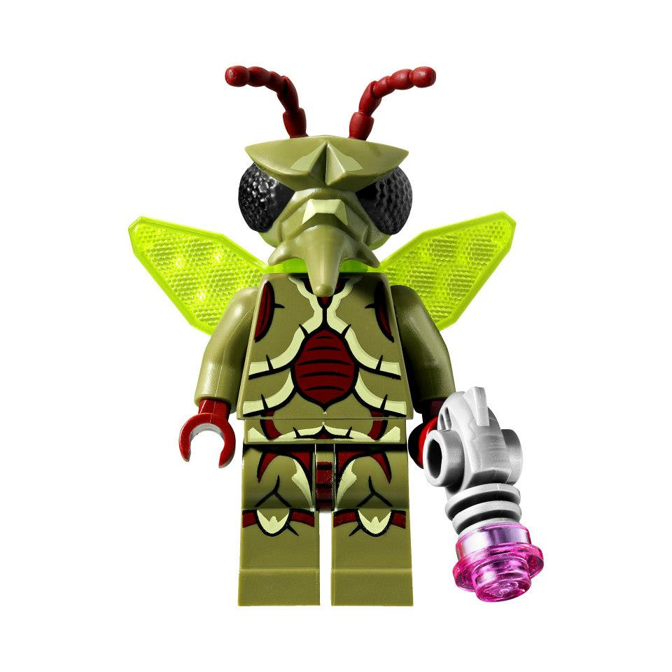 LEGO Winged Mosquitoid Minifigure from Galaxy Squad Sets 70701 70705 70702