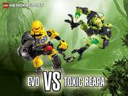 LEGO Hero Factory Breakout Evo vs. Toxic Reapa 1600x1200