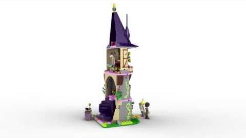 Lego Disney Princess 41054 Rapunzel's Creativity Tower Lego 3D Review