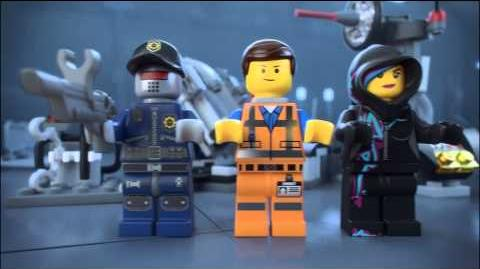 The Lego Movie 70801 Melting Room Lego 3D Review