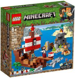 21152 The Pirate Ship Adventure Box