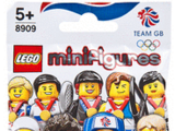 8909 Minifigures Série Équipe olympique britannique