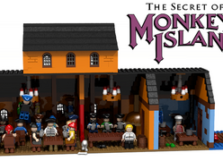 Lego Monkey Island Scumm Bar