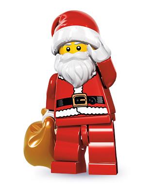 LEGO 2 Minifigure Figure Boy Girl  Elf Elve Helper/'s  Christmas Advent Santa