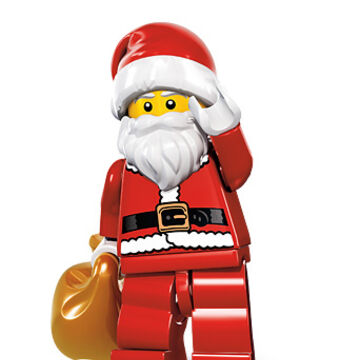 NEW LEGO CHRISTMAS ELF with LEGO CITY SET /& TREE santa claus minifig minifigure