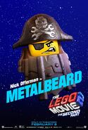 The LEGO Movie 2 Poster Metalbeard