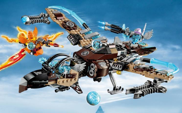 70228 le vautour volant wiki lego fandom powered by wikia - Lego chima saison 2 ...