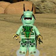 Green Ninja Mech Minifigure