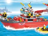 7207 Le bateau des pompiers