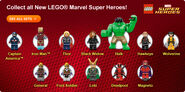 Marvel Minifigures