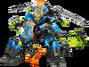 44028 Le Robot 2 en 1 de Surge et Rocka
