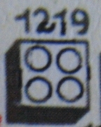 1219 2 x 2 Bricks