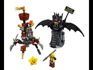 70836 Batman en armure de combat et Barbe d'Acier