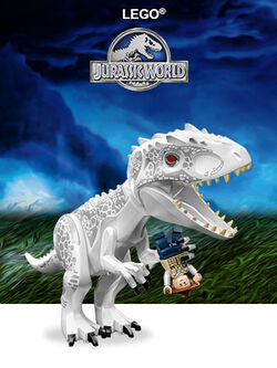 Jurassic World LEGO image
