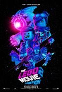 Lego movie two the second part 3d poster