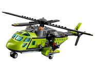 60123 L'hélicoptère d'approvisionnement du volcan 2