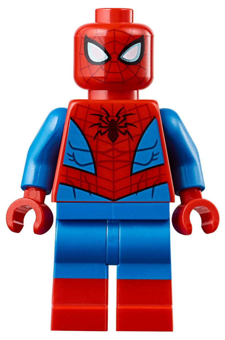 NEW LEGO SPIDER-MAN FIRST CHASE MINIFIGURE HEAD PART X1 RED MASK 4850