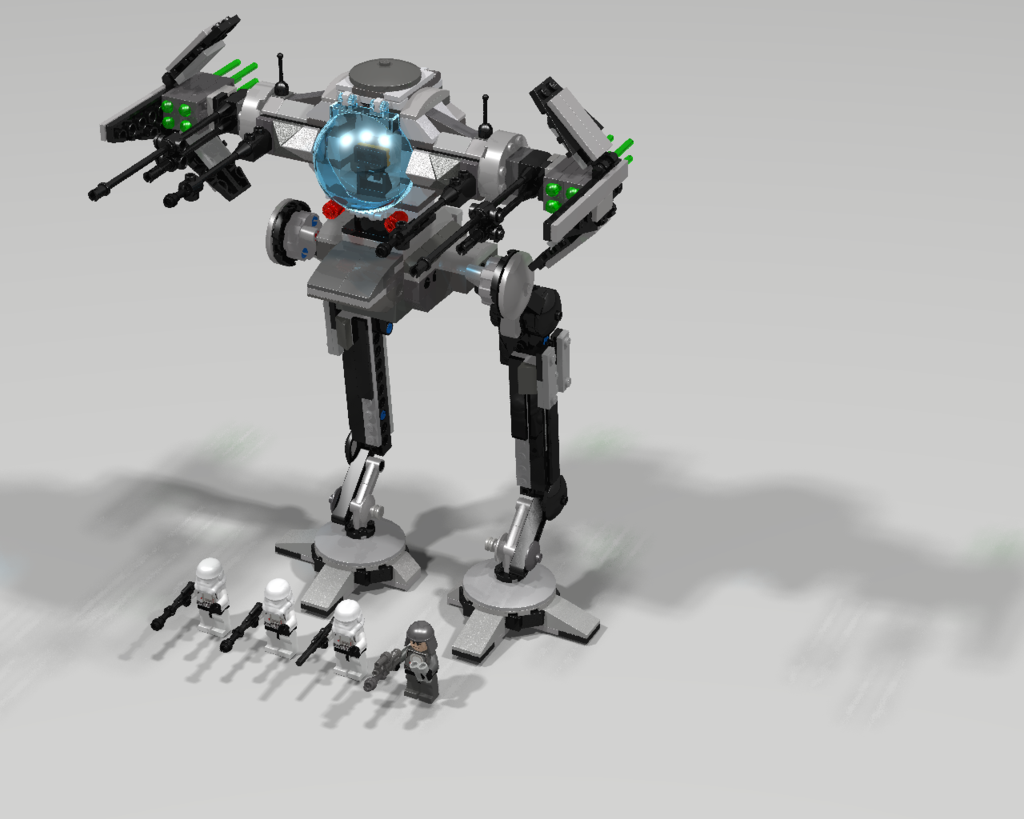 Lego tie walker set by jesse220-d8rjmo4