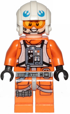 sw1026 with Space Gun LEGO Star Wars™ Hoth Rebel Trooper Minifig from 75259