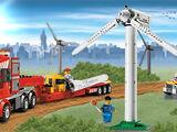 7747 Le transport de l'éolienne