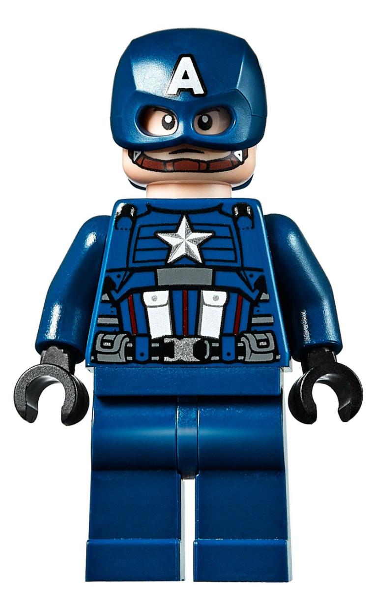 sh560 NEW LEGO Captain America FROM SET 76123 AVENGERS ENDGAME