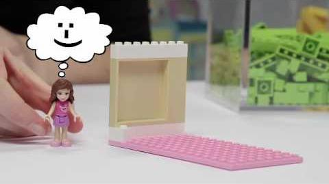 "LEGO Friends - ""Bedroom Inspiration"""