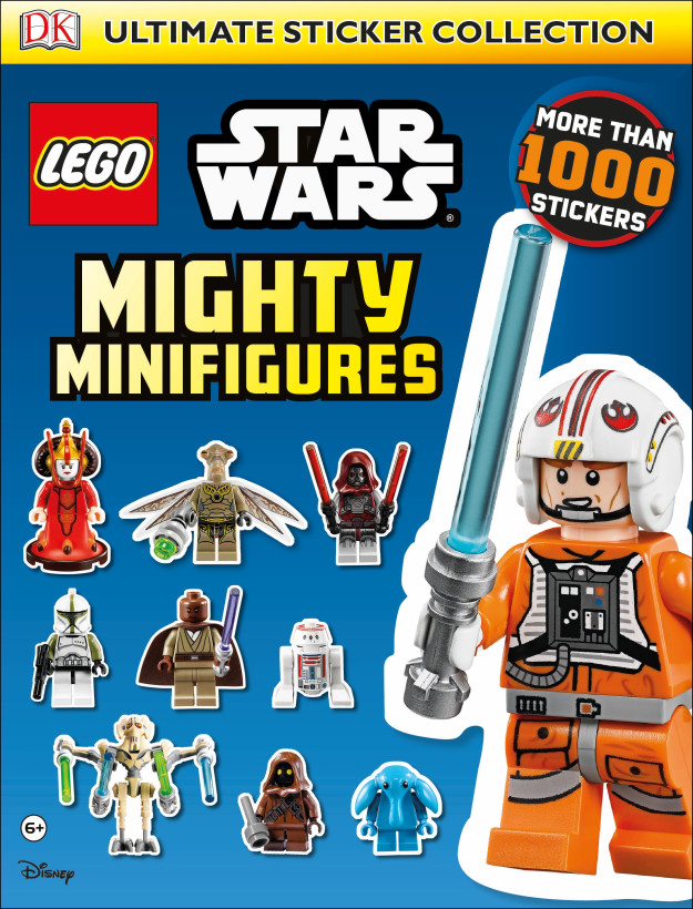 LEGO Star Wars: Mighty Minifigures Ultimate Sticker Collection ...