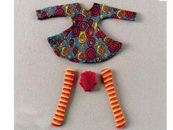 3140-Dancing Circle Dress for Girls
