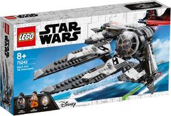75242 Black Ace TIE Interceptor Box
