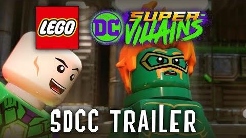 LEGO DC Super-Villains Official San Diego Comic Con Trailer