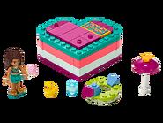 41384 La boîte cœur d'été d'Andréa