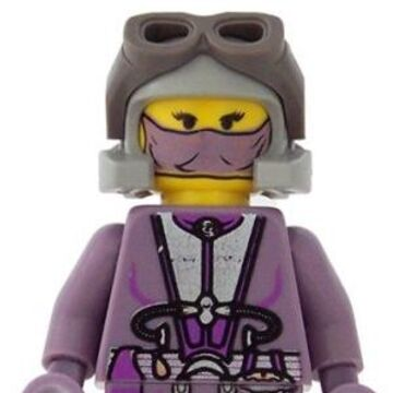 STAR WARS LEGO ZAM WESELL HEAD DUEL SIDED NEW