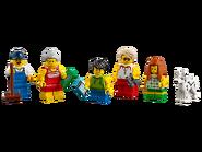 60153 Ensemble de figurines City - La plage 14